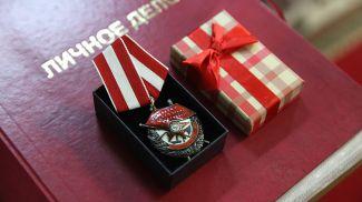 Найденный в Гродно орден Красного Знамени, принадлежавший погибшему при освобождении Беларуси воину