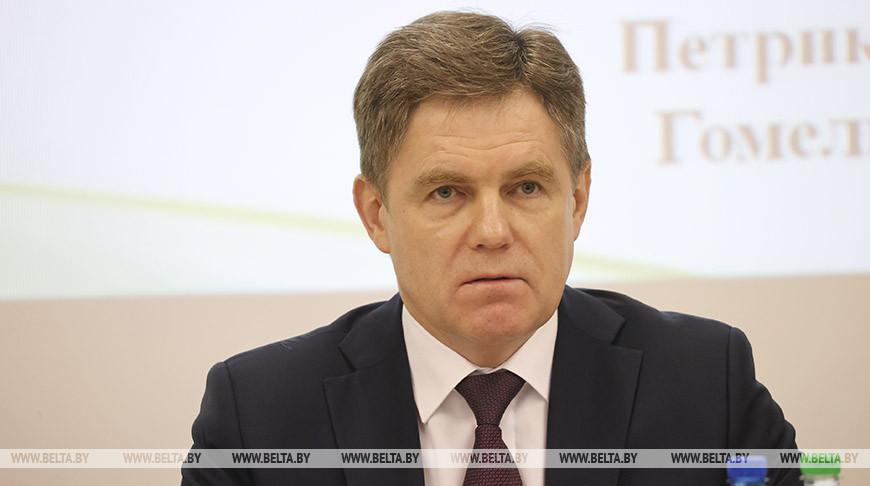 Игорь Петришенко во время заседания