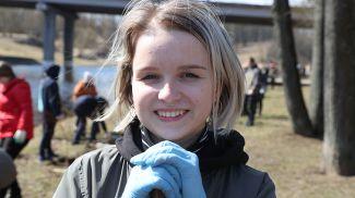 Учащаяся 10 класса СШ№ 3 г.Витебска Ксения Касьянчик