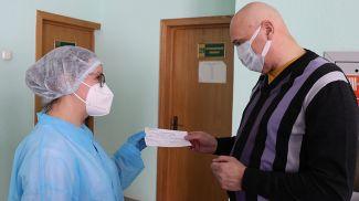 Вакцинация населения против коронавирусной инфекции началась в 34-й центральной районной клинической поликлинике Советского района