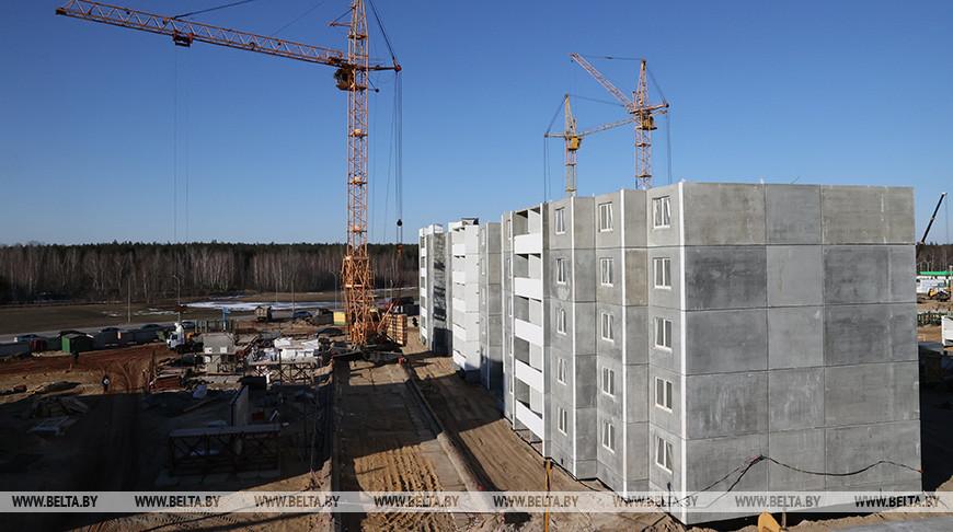 Новый жилой район построят в Микашевичах