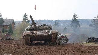 """Соревновательное шоу """"Танковый Биатлон Т-72"""""""