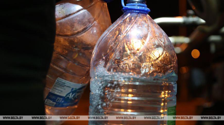 Подвоз питьевой воды в пострадавшие от аварии районы