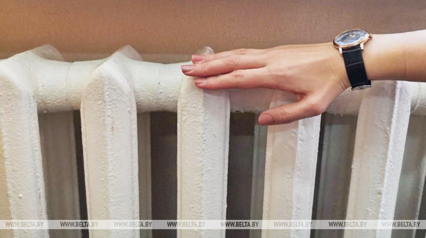 В Могилеве из-за понижения температуры включают отопление в жилых домах