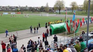 Стадион в Калинковичах