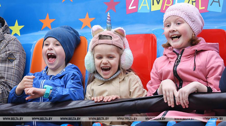 В центральном детском парке имени Максима Горького