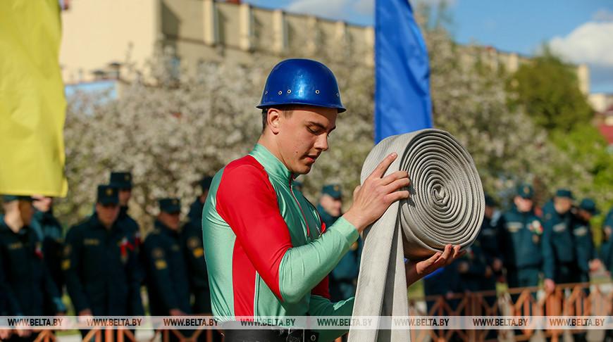 Турнир по пожарно-спасательному спорту 'Кубок Победы' проходит в университете МЧС