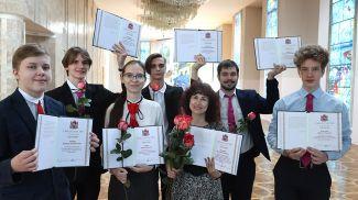 Вероника Лактина со своими воспитанниками