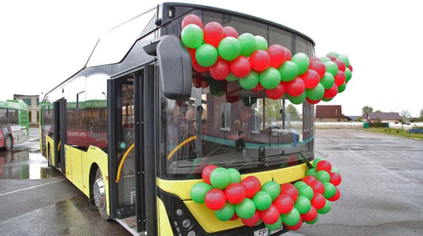 МАЗ поставил автобус третьего поколения для Молодечно