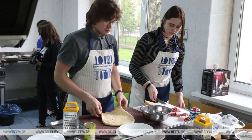 Во время приготовления конкурсных блюд