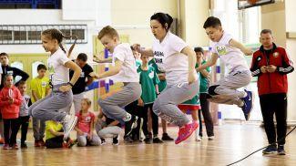 На спортивном празднике в Витебске