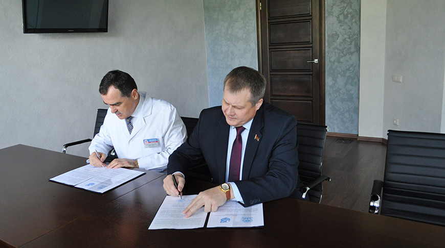 Брестская областная больница будет сотрудничать с БрГТУ