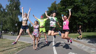 В Минске состоялся легкоатлетический забег
