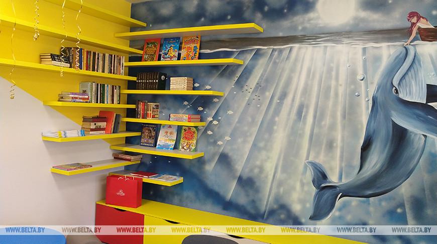 Игровую комнату открыли в Брестской детской областной больнице