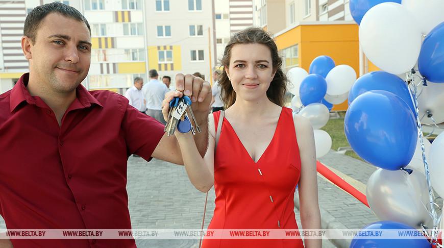Молодая семья Евгений и Елена Теребовец