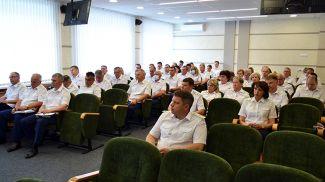 Во время заседания. Фото прокуратуры Гродненской области