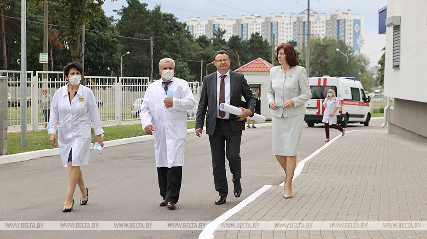 Выездное совещание с участием Натальи Кочановой прошло в Минске