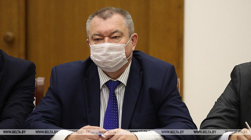 Строительство радиологического корпуса в Могилевском онкодиспансере планируют закончить в этом году