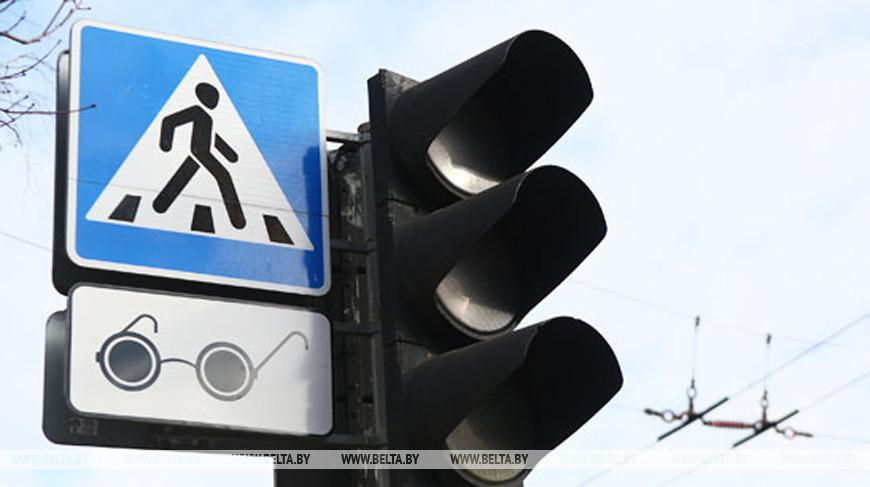 Светофор не работает на перекрестке улиц Киселева и Красная в Минске