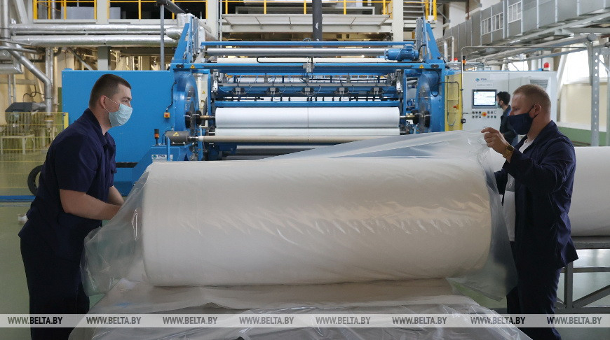 Участок по производству нетканых строительных материалов