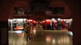 Экспозиция музея обороны Брестской крепости