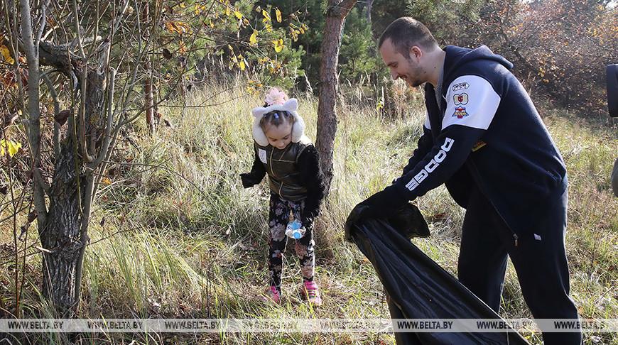 Вакции «Чистый лес» примут участие более 7,4тыс. жителей Могилевской области