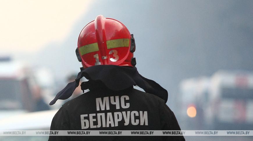 В Гродненском районе горел зерноочистительно-сушильный комплекс
