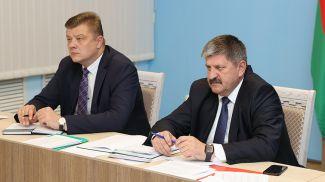 Николай Рогащук и Геннадий Соловей