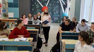 Во время урока