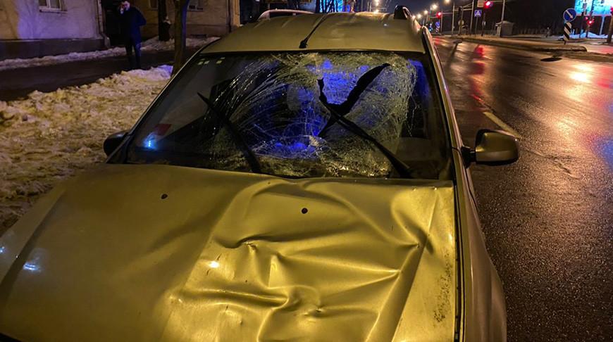 В Минске автомобиль сбил пешехода — он умер в машине скорой помощи