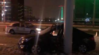 Скриншот из видео УГАИ ГУВД Мингорисполкома