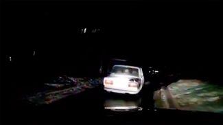 Скриншот из видео ГАИ УВД Могилевского облисполкома