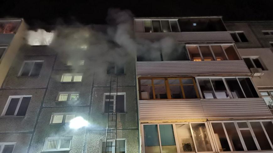 В Минске при пожаре погибла женщина