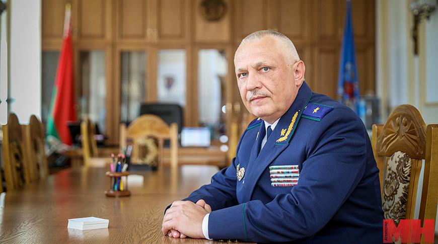 Олег Лаврухин. Фото  Минск-Новости