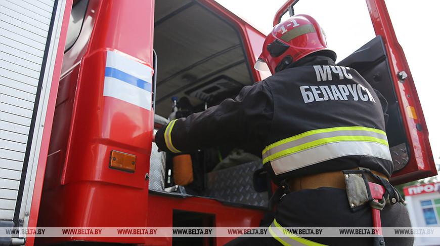 В Брестской области при пожаре погиб человек.