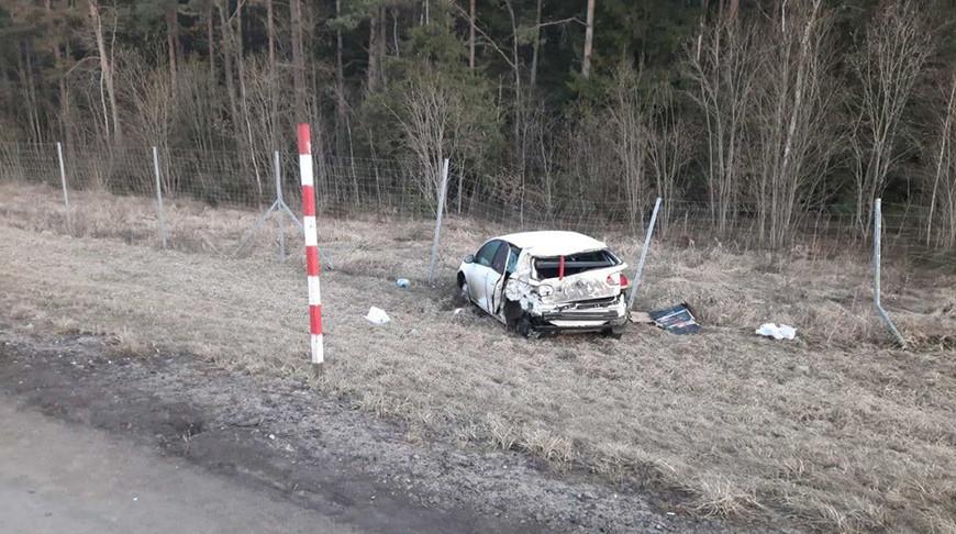 На трассе М6 «Ауди» протаранила попутную легковушку.