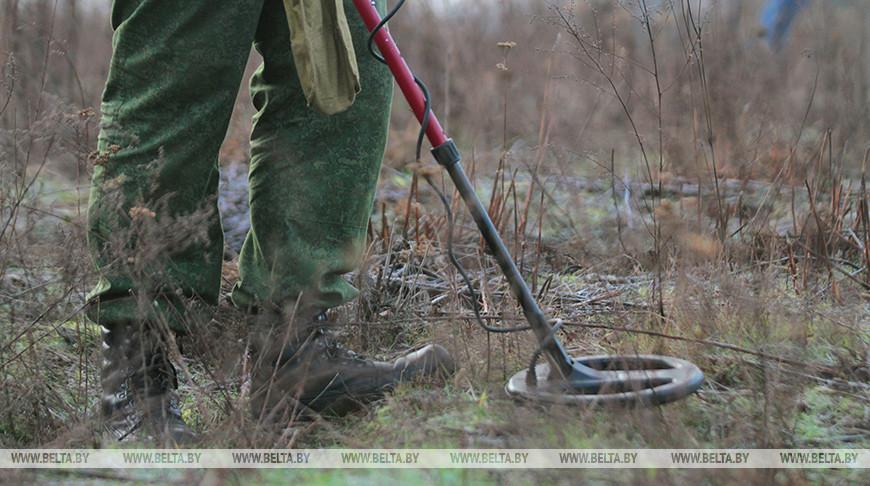 Более 250 боеприпасов времен ВОВ обнаружили в Витебском районе