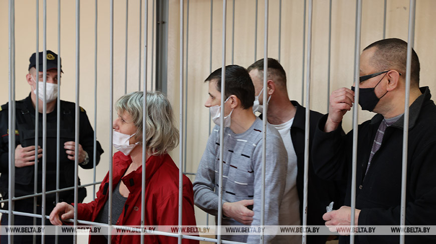 На четверых 24,5 года - в Гомеле вынесли приговор по делу доверенных лиц Тихановской