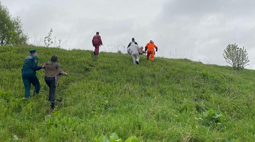 На Западной Двине в Верхнедвинске спасли двух тонувших человек