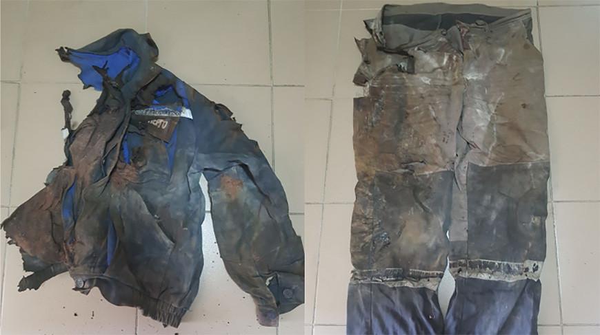 Одежда потерпевшего. Фото СК