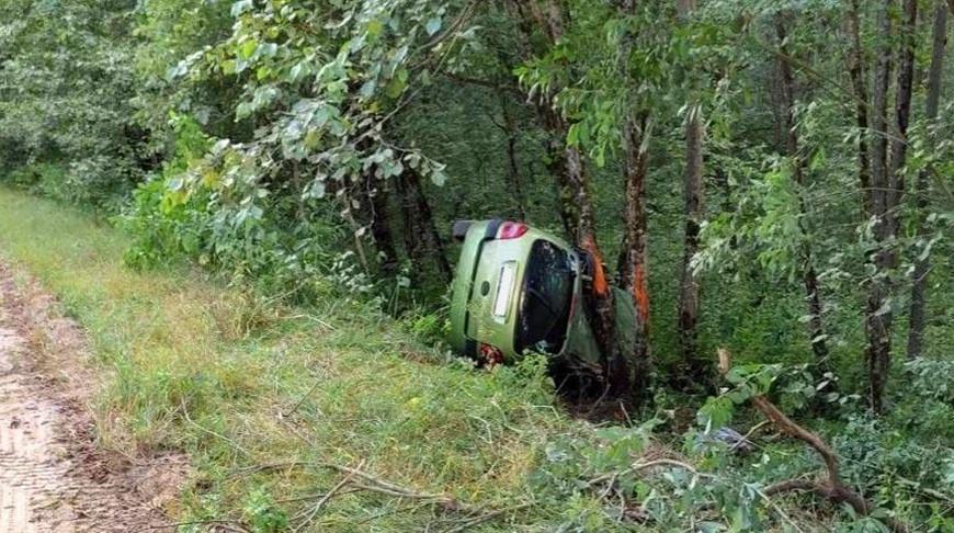 В Докшицком районе в ДТП погибла женщина