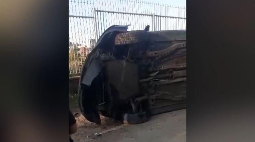 В Барановичах опрокинулась легковушка - погиб подросток