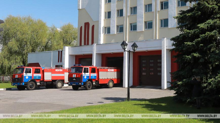 В Могилевском районе при пожаре погибла женщина
