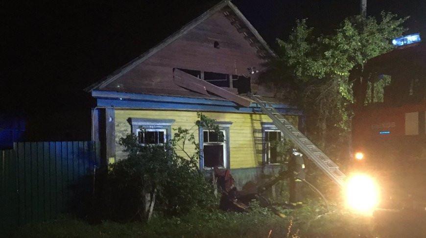 В Быхове при пожаре погиб мужчина