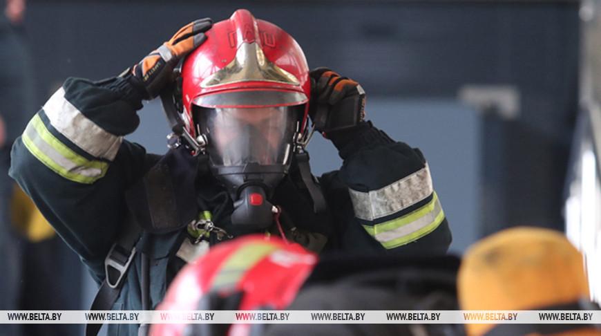 В Вилейском районе Минской области при пожаре погиб мужчина