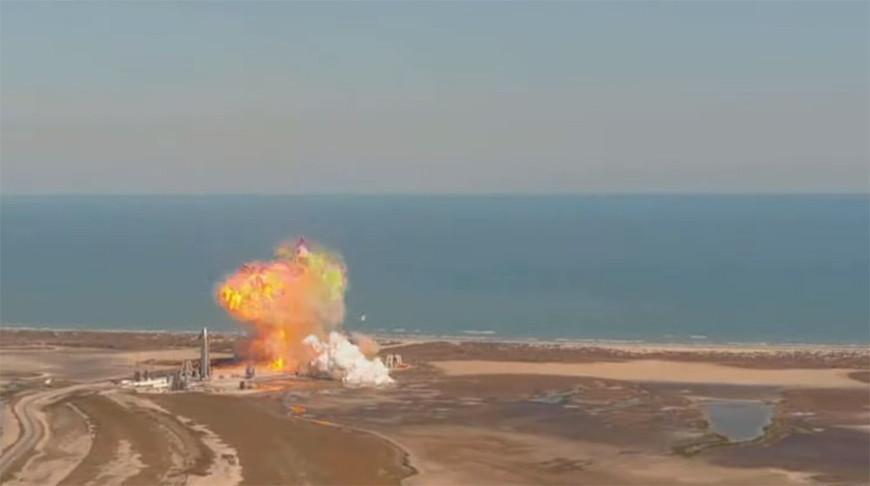 Скриншот из видео SpaceX