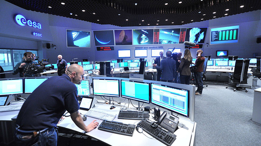 Фото European Space Operations Centre