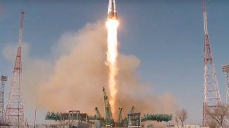 Скриншот из видео Роскосмоса