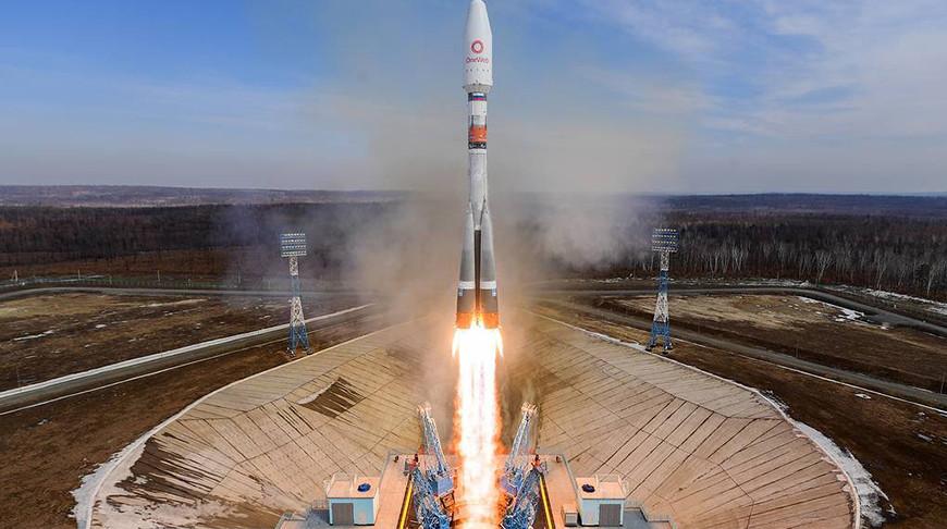 """Ракета-носитель """"Союз-2.1б"""". Фото ТАСС"""