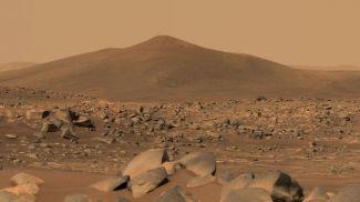 Один из снимков поверхности Марса, сделанный марсоходом Perseverance. Фото NASA